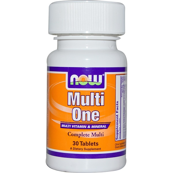 Now Foods, Multi One, Multi Vitamin & Mineral, 30 Tablets (Discontinued Item)