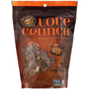 Натурес Пат, Love Crunch, Dark Chocolate & Peanut Butter, 11.5 oz (325 g) отзывы покупателей