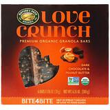 Nature's Path, 愛脆,優質有機燕麥棒,黑巧克力花生醬,6 條,每條 1.06 盎司(30 克)