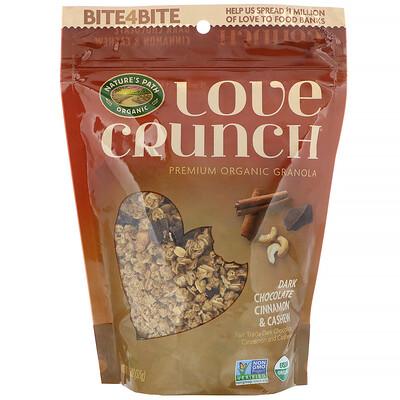 Купить Nature's Path Гранола Love Crunch, темный шоколад, корица и кешью, 325 г (11, 5 унций)