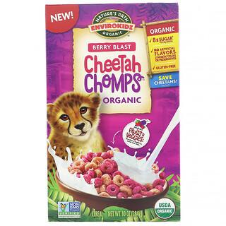 Nature's Path, EnviroKidz, Organic Berry Blast Cheetah Chomps, 10 oz (284 g)