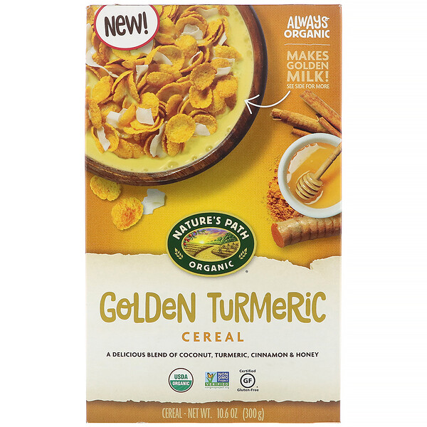 Golden Turmeric Cereal, 10.6 oz (300 g)