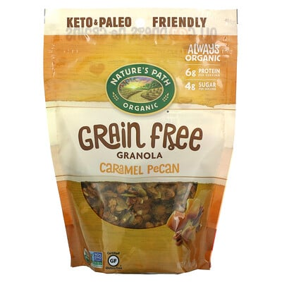 Nature's Path Organic Grain Free Granola, Caramel Pecan, 8 oz (227 g)