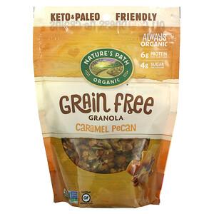 Nature's Path, Organic Grain Free Granola, Caramel Pecan, 8 oz (227 g)