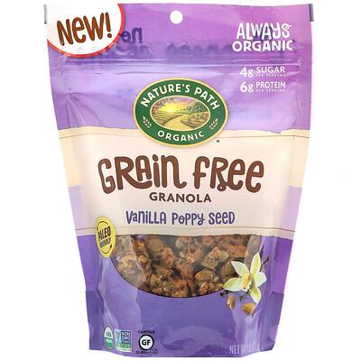 Nature's Path Grain Free Granola, Vanilla Poppy Seed, 8 oz (227 g)