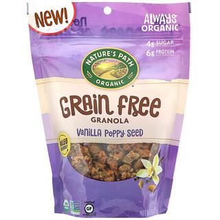 Nature's Path, Grain Free Granola, Vanilla Poppy Seed, 8 oz (227 g)