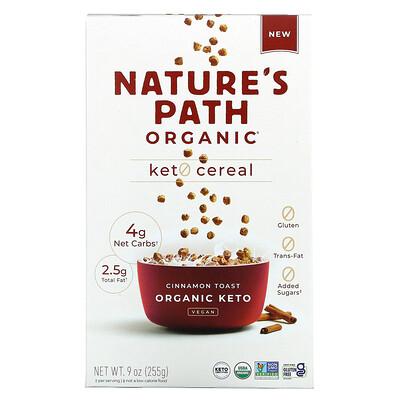Nature's Path Keto Cereal, Cinnamon Toast, 9 oz (255 g)