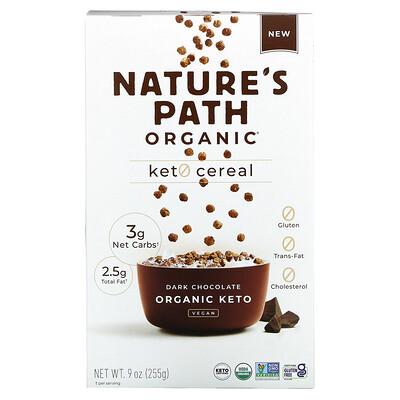Nature's Path Organic Keto Cereal, Dark Chocolate, 9 oz (255 g)