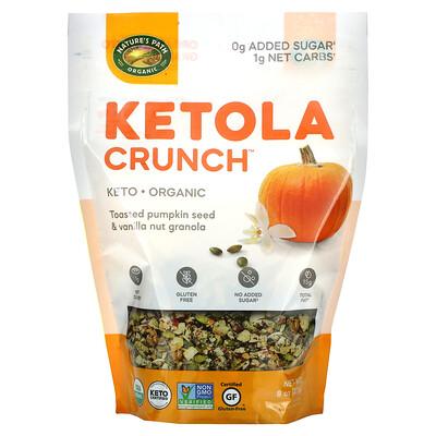 Nature's Path Organic Ketola Crunch, Pumpkin Seed & Vanilla Granola, 8 oz (227 g)