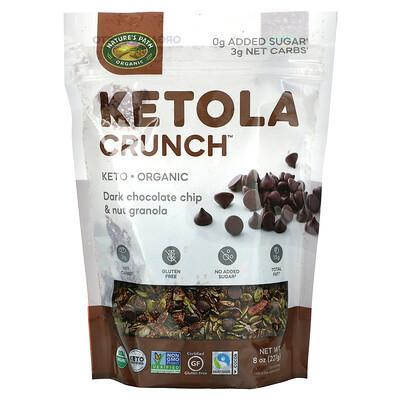Nature's Path Ketola Crunch, Dark Chocolate Chip & Nut Granola, 8 oz (227 g)
