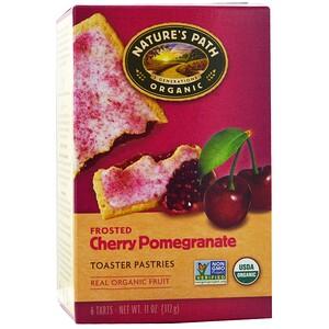 Натурес Пат, Organic, Frosted Toaster Pastries, Cherry Pomegranate, 6 Tarts, 52 g Each отзывы покупателей