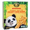 Nature's Path, Organic, EnviroKidz, Crispy Rice Cereal Bars, Peanut Butter, 6 Bars, 1 oz (28 g) Each