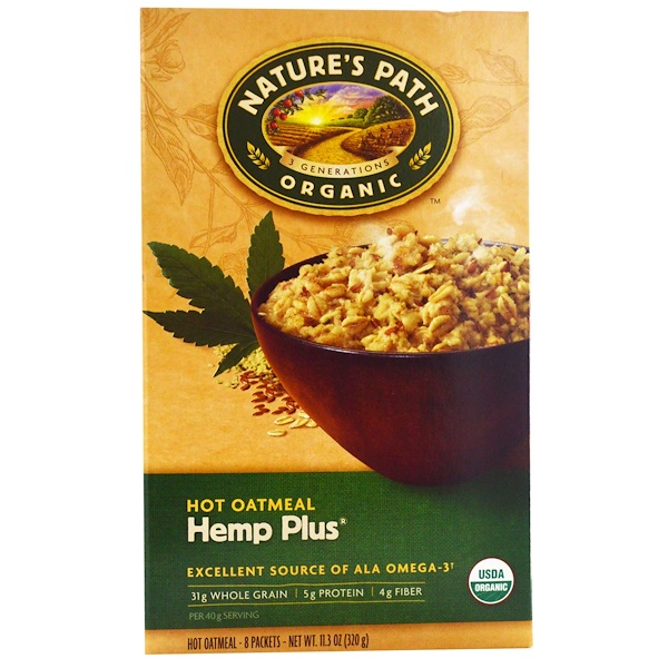 Nature S Path Organic Hot Oatmeal