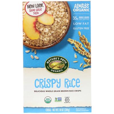 цена на Органическая рисовая каша, 10 унций (284 г)