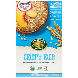 Натурес Пат, Organic Crispy Rice Cereal, 10 oz (284 g) отзывы покупателей