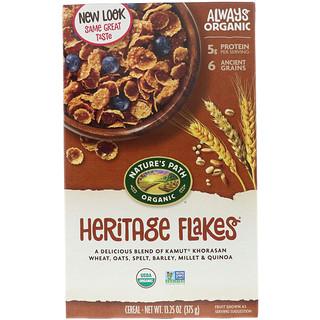 Nature's Path, Copos de cereal orgánico, 13.25 oz (375 g)
