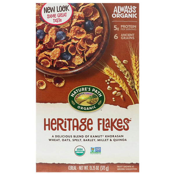 Organic Heritage Flakes Cereal, 13.25 oz (375 g)