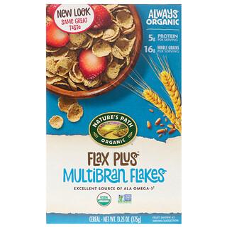 Nature's Path, Organic, Flax Plus Multibran Flakes Cereal, 13.25 oz (375 g)