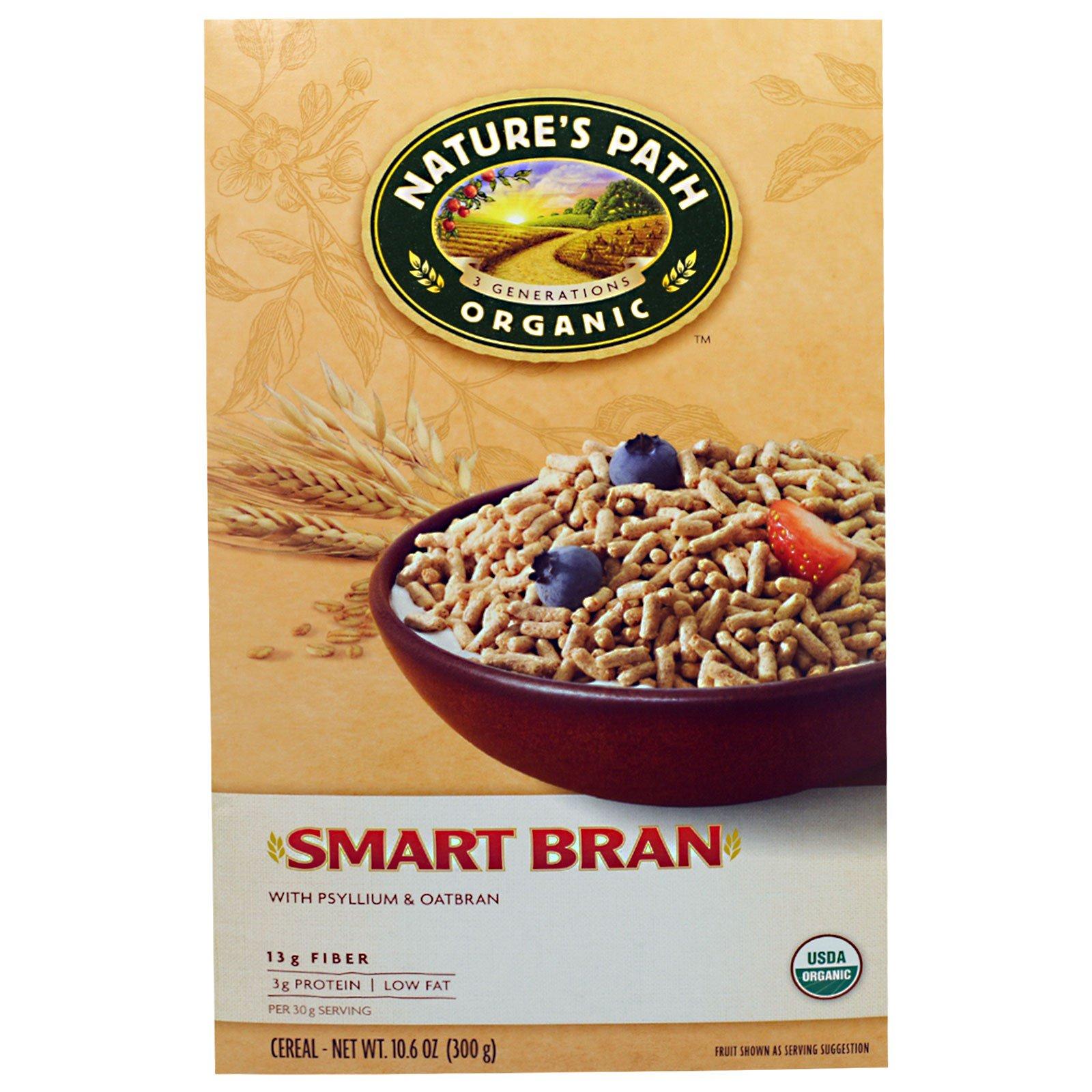 """Nature's Path, """"Умный мозг"""", органический зерновой завтрак, 10,6 унции (300 г)"""
