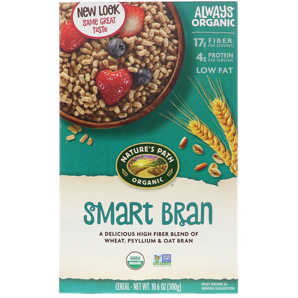 Nature's Path, Organic Smart Bran, 10.6 oz (300 g)