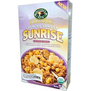 Nature's Path, Organic, Sunrise Crunchy Vanilla Cereal, Gluten Free, 10.6 oz (300 g)