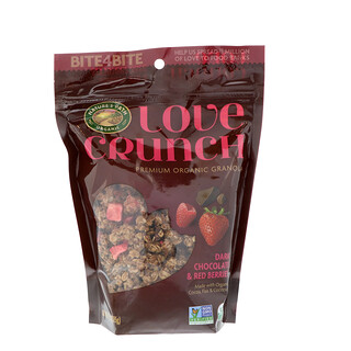 Nature's Path, Love Crunch, Premium Organic Granola, Dark Chocolate & Red Berries, 11.5 oz (325 g)