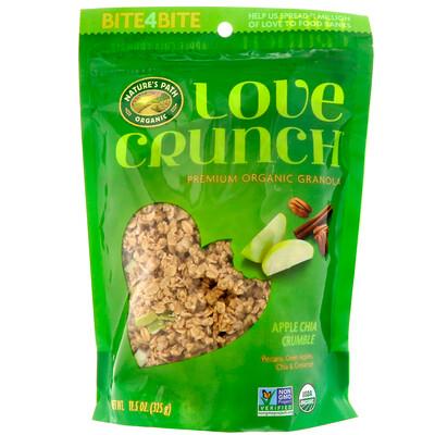 Купить Nature's Path Love Crunch, высококачественные органические мюсли, яблочный пирог с чиа, 11.5 унц. (325 г)