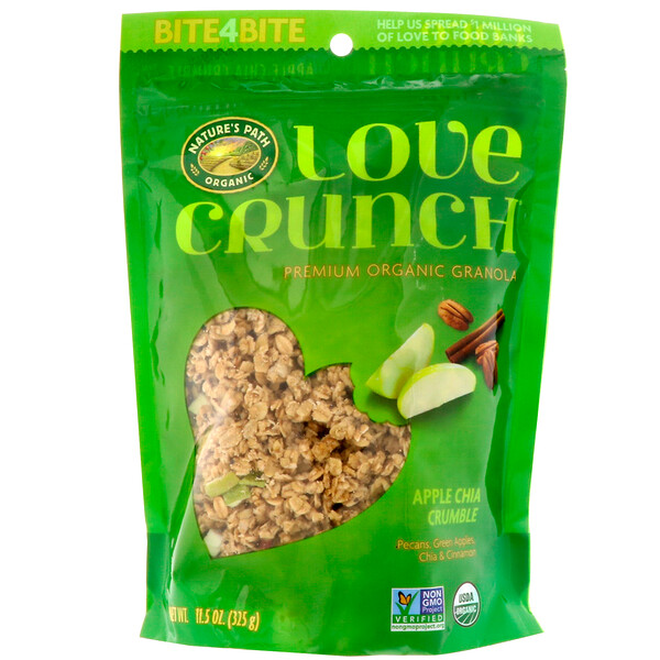 Love Crunch, Premium Organic Granola, Apple Chia Crumble, 11.5 oz (325 g)