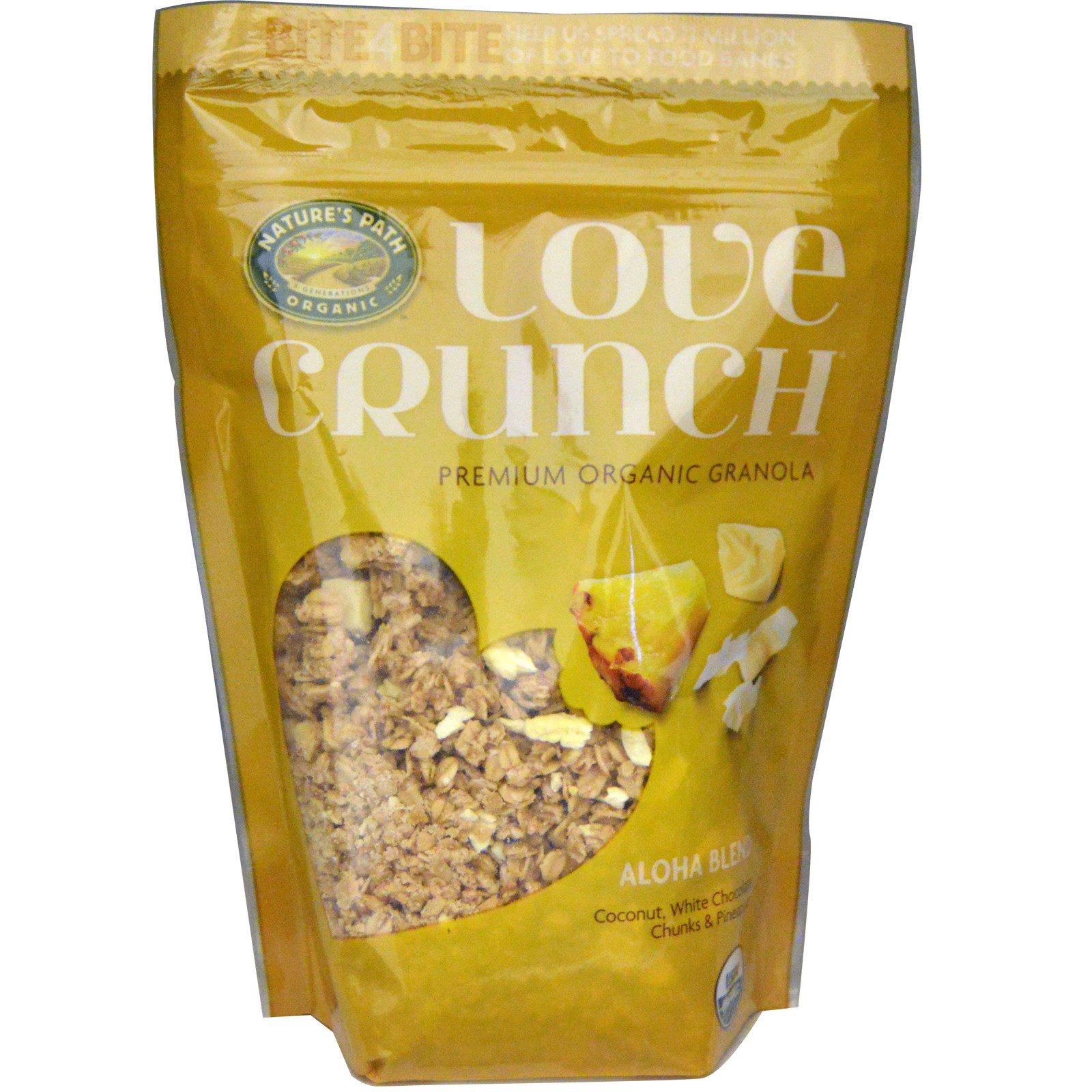 Nature's Path, Love Crunch, Высококачественная органическая гранола, тропическая смесь, 11,5 унций (325 г)