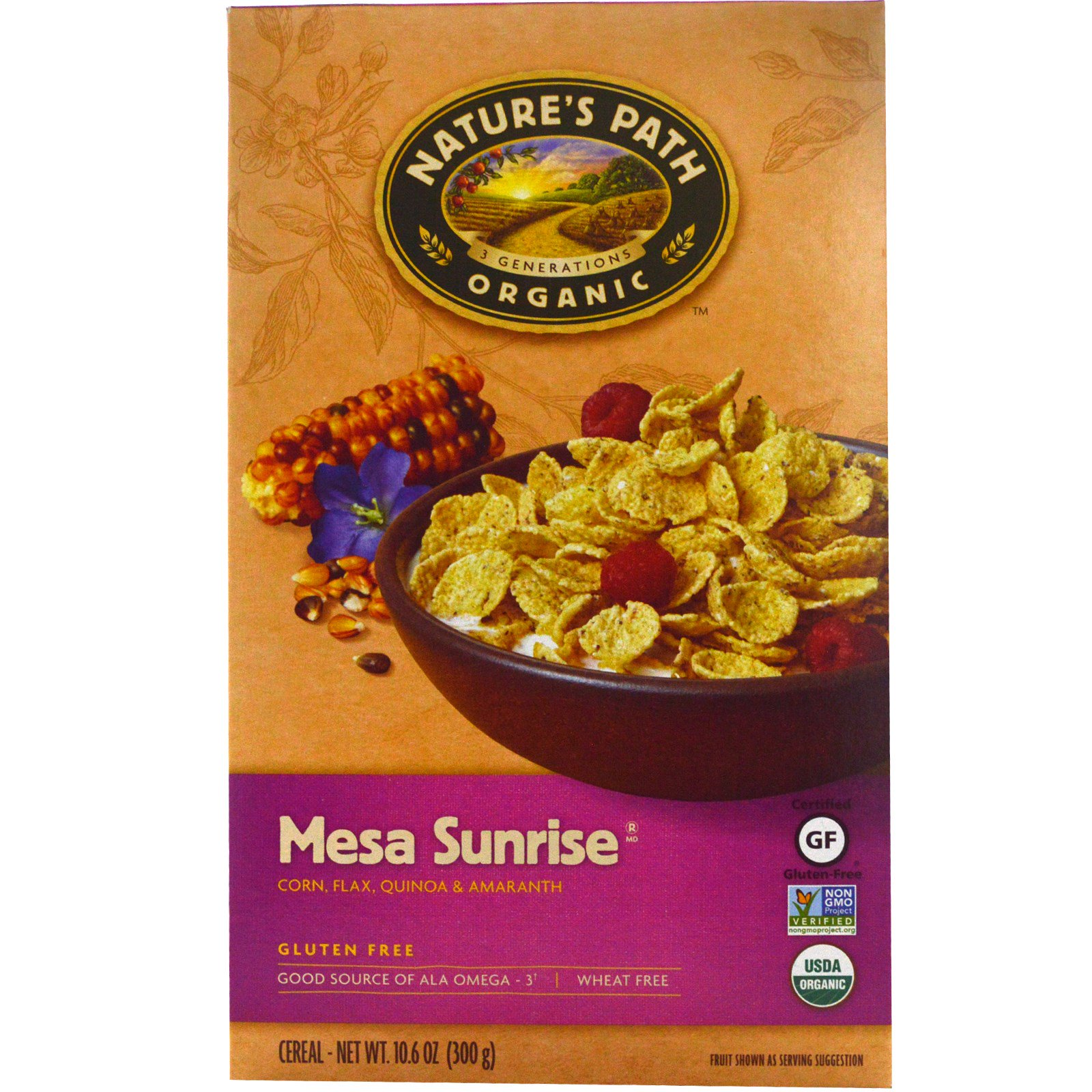 Nature's Path, Organic, Mesa Sunrise, Gluten-Free Cereal