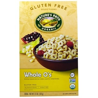 Nature's Path, Whole O's Cereal, 11.5 oz (325 g)