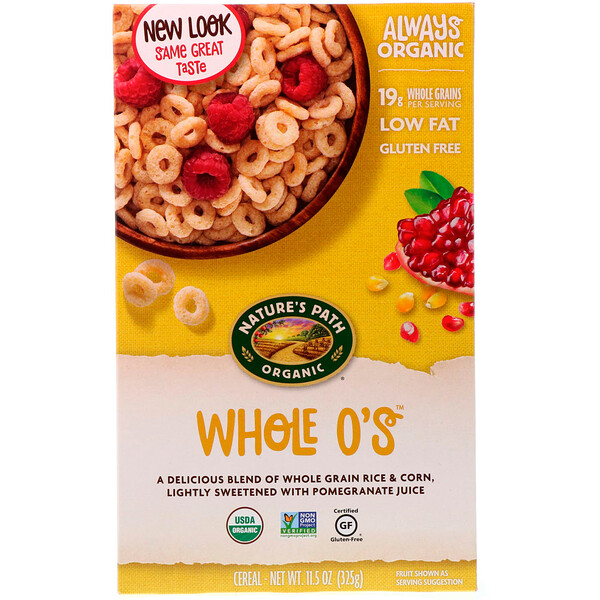Cereal Whole O's, 11,5 onzas (325 g)