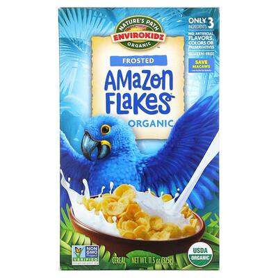 Nature's Path Envirokidz Organic, Amazon Flakes Cereal, Frosted, 11.5 oz (325 g)