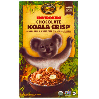 Nature's Path, EnviroKidz, органические шоколадные хрустящие хлопья «коала», 325 г (11,5 унции)