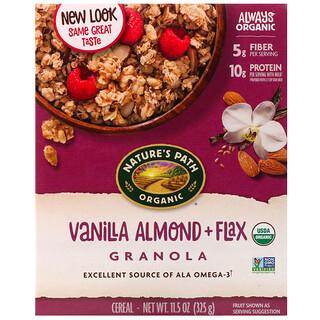 Nature's Path, Organic, Vanilla Almond + Flax Granola Cereal, 11.5 oz (325 g)