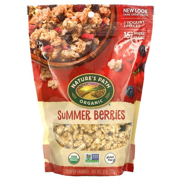 Crunchy Granola, Summer Berries, 11 oz (312 g)