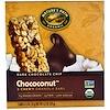 Nature's Path, チョココナッツ(Chococonut), 噛めるグラノラバー, ダークチョコレート(ブラックチョコレート)チップ, 5バー, 各1.2オンス (35 g)