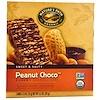 Nature's Path, Organic, Chewy Granola Bars, Peanut Choco, 5 Bars, 1.2 oz (35 g) Each