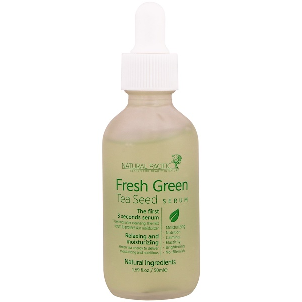 Nacific, Fresh Green, Tea Seed Serum, 1.69 fl oz (50 ml) (Discontinued Item)