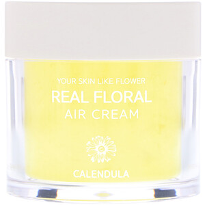 Nacific, Real Floral Cream, Calendula, 3.38 fl oz (100 ml) отзывы
