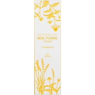 Natural Pacific, Real Floral Toner, Calendula, 6.08 fl oz (180 ml)