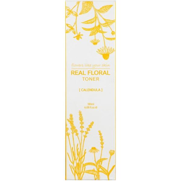 Nacific, Real Floral Toner, Calendula, 6.08 fl oz (180 ml) (Discontinued Item)