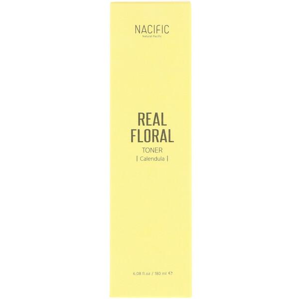 Nacific, Тоник с экстрактом календулы Real Floral, 6,08 ж. унц. (180 мл)