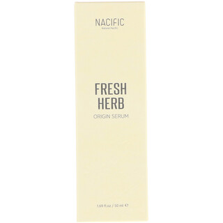 Nacific, Fresh Herb Origin Serum, 1.69 fl oz (50 ml)