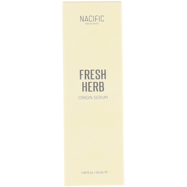 Nacific, FreshHerb Origin Serum, 1.69 fl oz (50 ml)