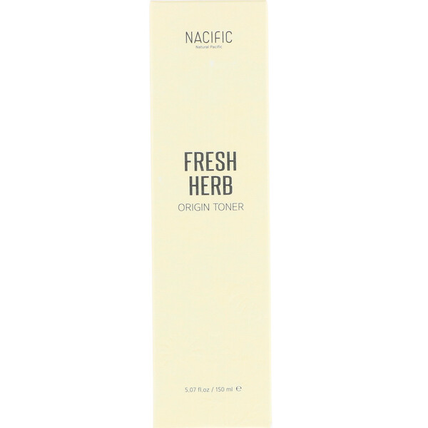 Nacific, Fresh Herb Origin Toner, 5.07 fl oz (150 ml)