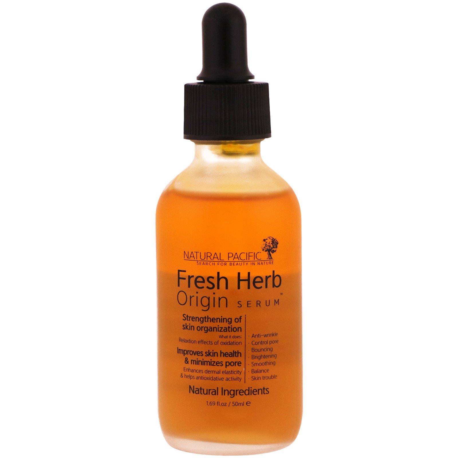 Natural Pacific, Fresh Herb, Origin Serum, 1.69 fl oz (50 ml)