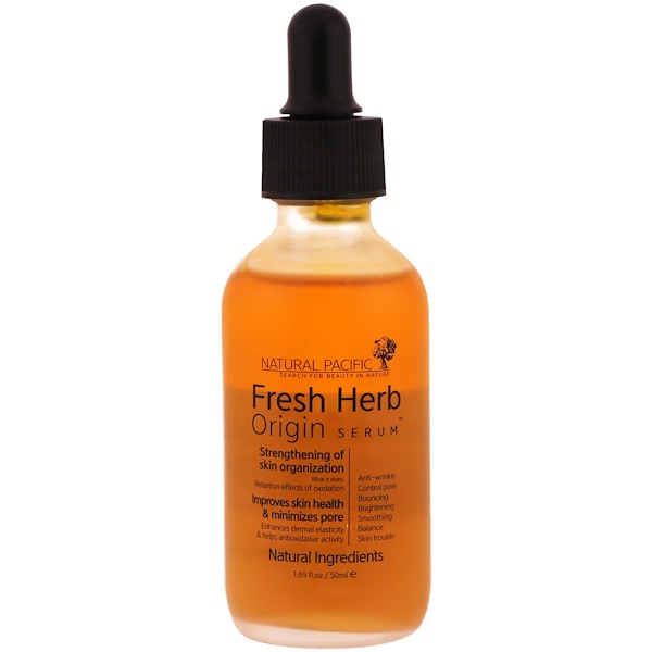 Nacific, Fresh Herb, Origin Serum, 1.69 fl oz (50 ml) (Discontinued Item)