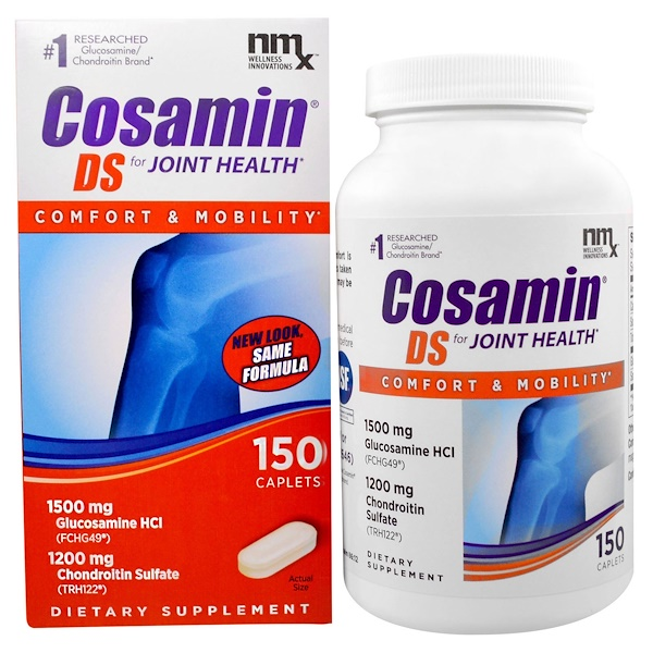 Nutramax, Cosamin DS for Joint Health, 150 Caplets (Discontinued Item)