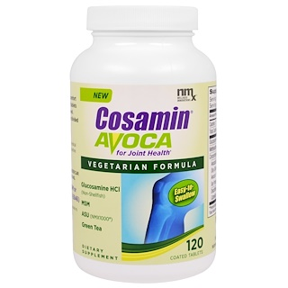 Nutramax, Cosamin Avoca for Joint Health, 120 Coated Tablets